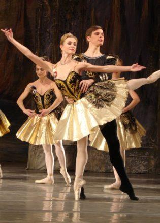 Оne-act ballet's evening
